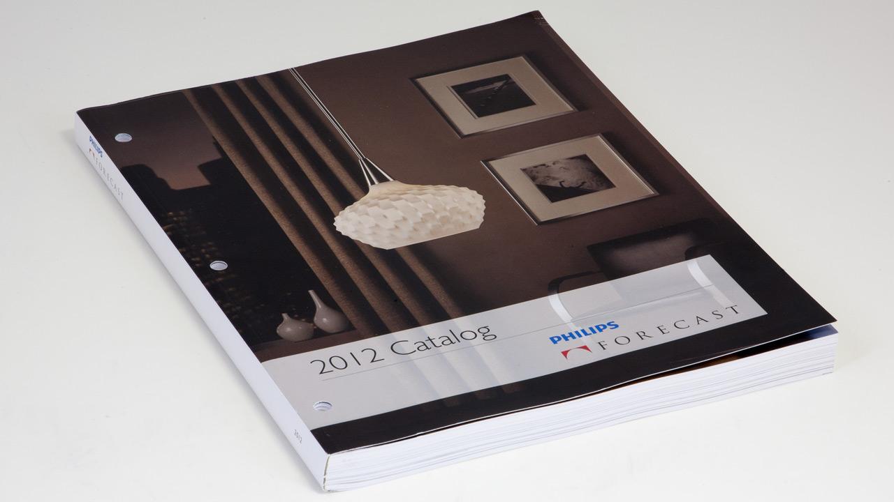 forecast lighting catalog design with automation