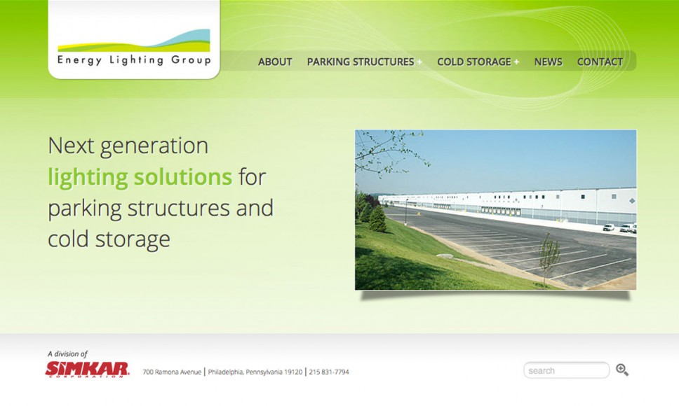 Energy Lighting Group Home Page