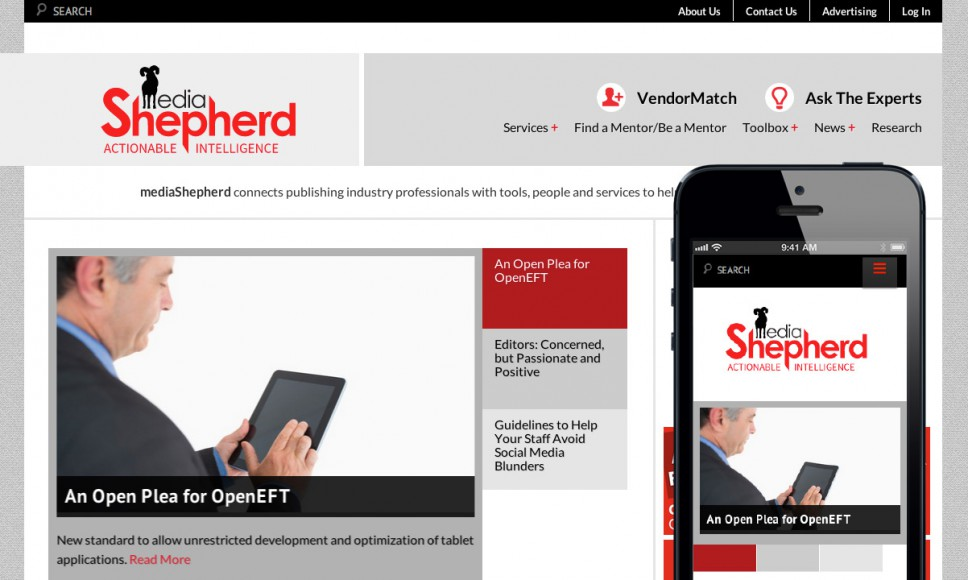 MediaShepherd.com Home Page