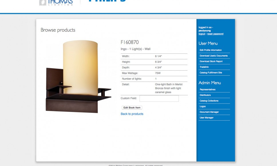 Custom Catalog View and Add Products