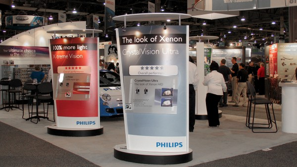 Philips Trade Show Booth Kiosks